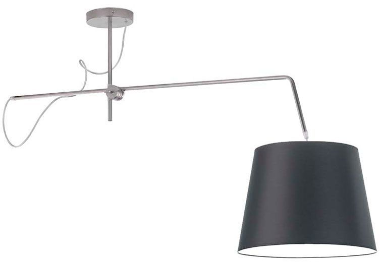 Ruchoma lampa wisząca z abażurem EX241-Oviedex - 18 kolorów do wyboru