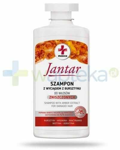 Farmona Jantar Medica szampon z wyciągiem z bursztynu do włosów zniszczonych 330 ml