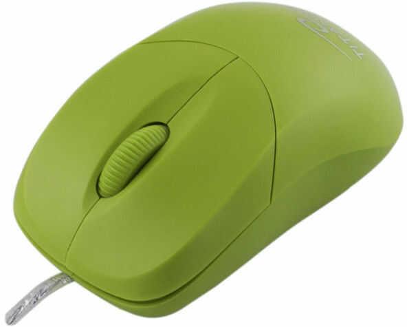 TM109G Mysz przewodowa 3D optyczna USB Arowana zielona Titanum