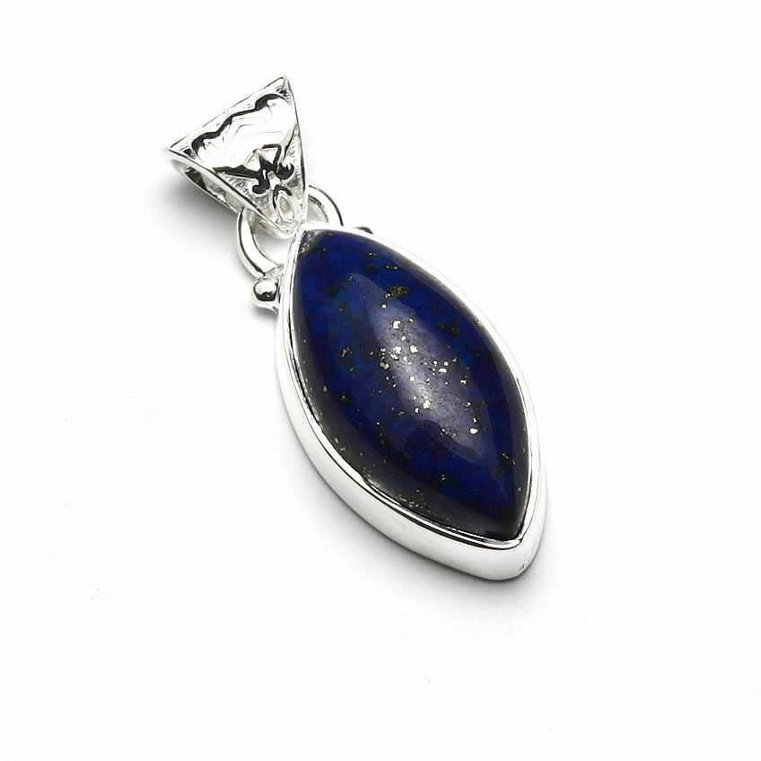 Kuźnia Srebra - Zawieszka srebrna, 29mm, Lapis Lazuli, 5g, model