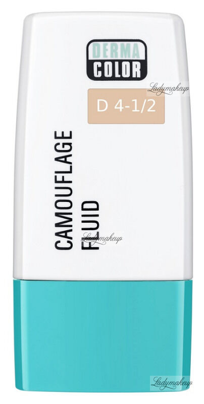 KRYOLAN - Dermacolor - Camouflage Fluid - Fluid wodoodporny - D 4-1/2