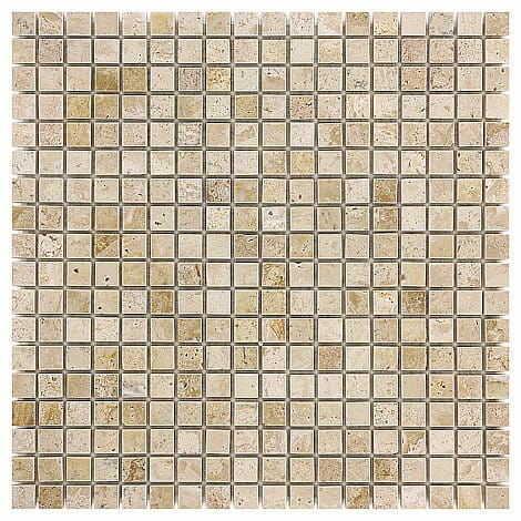 DUNIN Travertine mozaika kamienna Cream 15