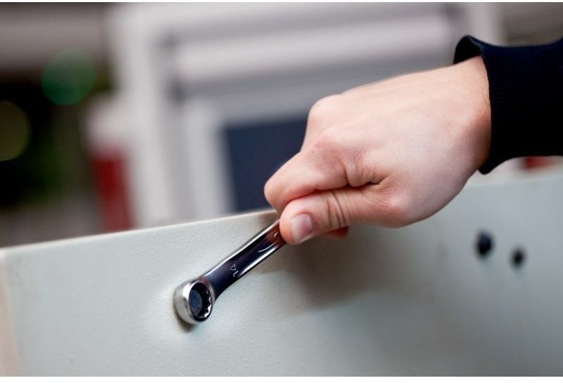 zestaw kluczy płasko-oczkowych odgiętych 12 szt. 8-19mm, Bahco BAHCO [111M/SH12]