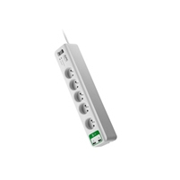 APC Essential SurgeArrest 5 outlets with 5V, 2.4A 2 port USB Charger