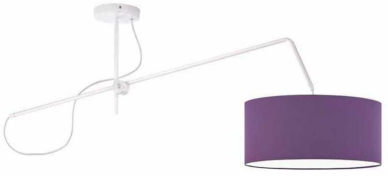 Lampa wisząca okrągła nad stół EX243-Risa - 18 kolorów do wyboru