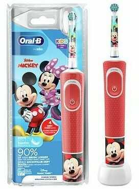 Szczoteczka do zębów ORAL-B Vitality D100 Kid Mickey. > DARMOWA DOSTAWA ODBIÓR W 29 MIN DOGODNE RATY