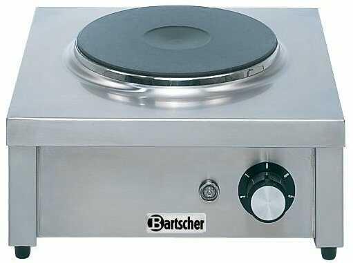 Bartscher Kuchnia elektryczna nastawna 1 płytowa 2000W - kod 105321
