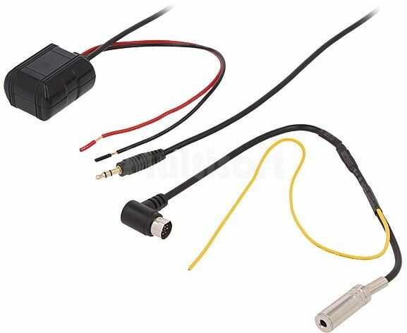 Adapter Bluetooth AUX IN VW do radioodbiornika MFD 1