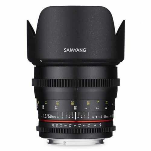 Samyang 50mm T1.5 Pentax VDSLR