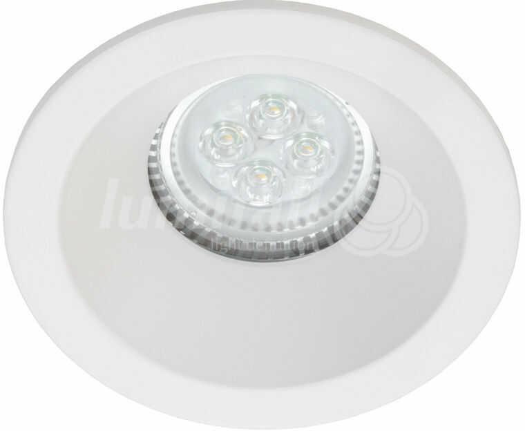 Oczko wpuszczane Soria IP65 Lumifall oprawa hermetyczna w kolorze białym