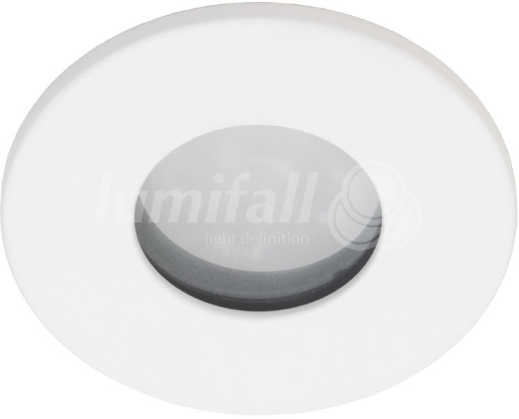 Oczko wpuszczane Rubi IP65 Lumifall oprawa hermetyczna w kolorze białym