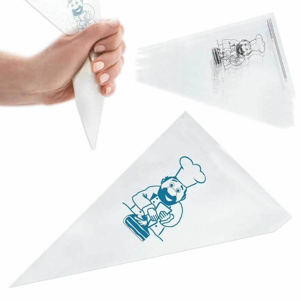 Rękaw cukierniczy, worek, dekorator, 20 szt, 34,5 cm