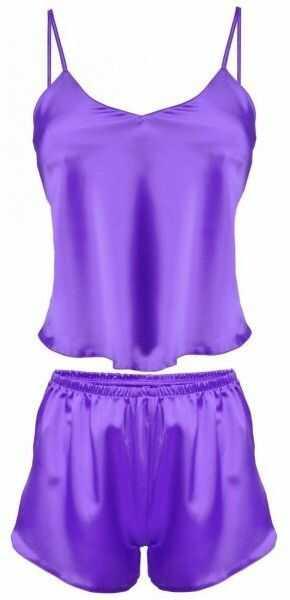 Dkaren karen fioletowy piżama damska