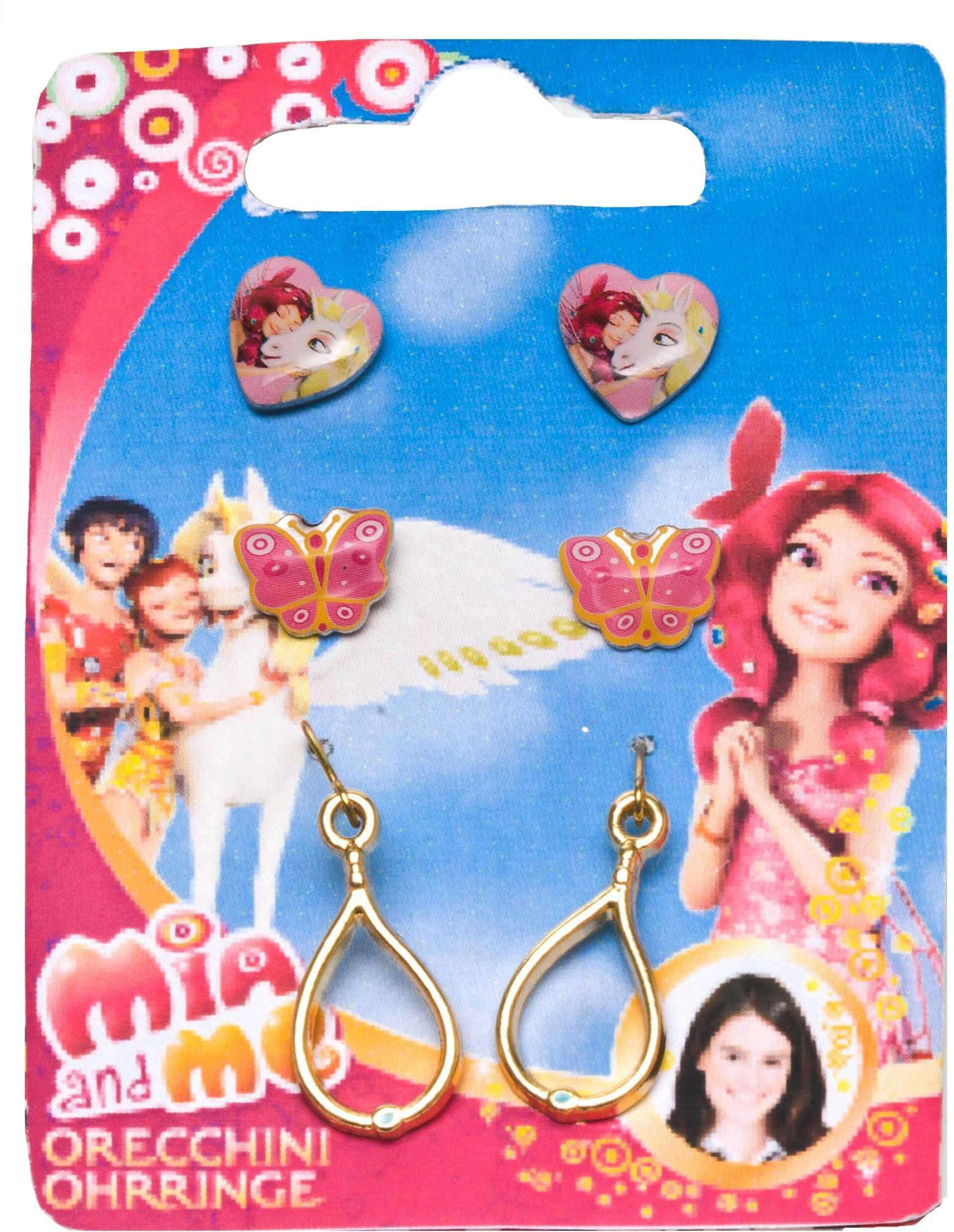 Joy Toy 118071 kolczyki Mia and Me zestaw na karcie zabezpieczającej (3 sztuki)