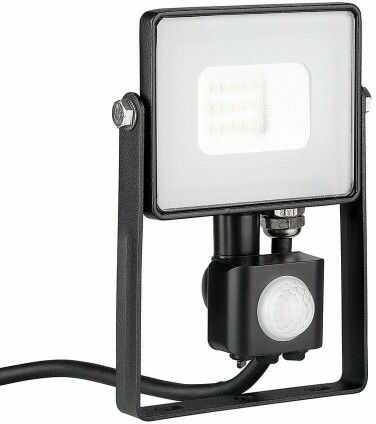 Naświetlacz 10W 3000K V-TAC SAMSUNG LED z czujnikiem VT-10-S