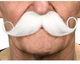 Żywe kostiumy 202916 wąsy, wielokolorowe, jeden rozmiar