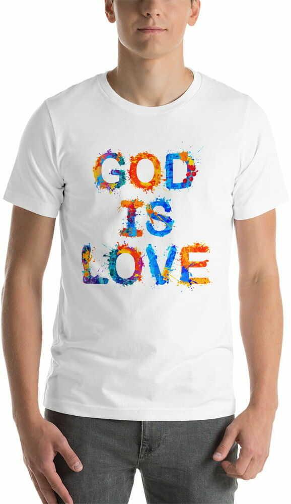 Koszulka religijna God is love