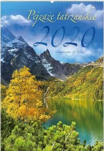 Kalendarz 2020 RW07 Pejzaże Tatrzańskie ZAKŁADKA DO KSIĄŻEK GRATIS DO KAŻDEGO ZAMÓWIENIA