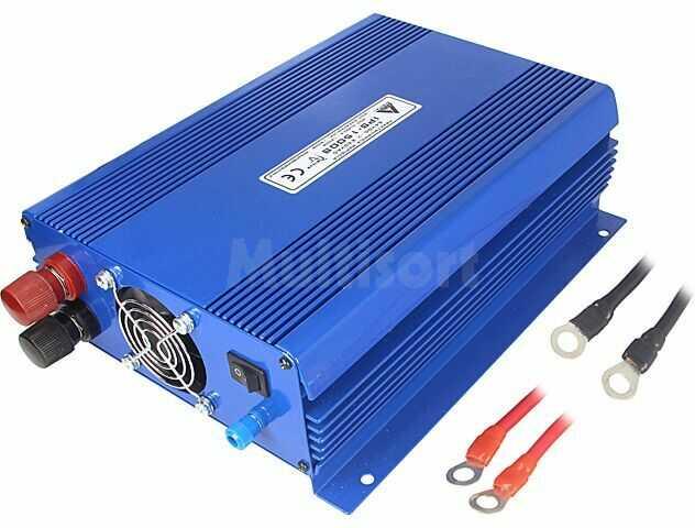 Przetwornica samochodowa AZO DIGITAL IPS-1500S 2G dc/ac 1200W 24VDC/230VAC