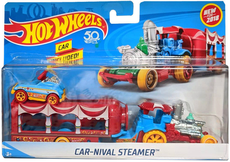 Hot Wheels - Ciężarówka Car Nival Steamer FKW89