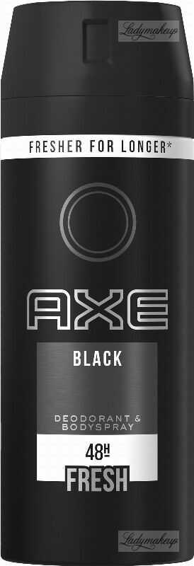 AXE - BLACK - DEODORANT & BODY SPRAY - Dezodorant w aerozolu dla mężczyzn - 150 ml