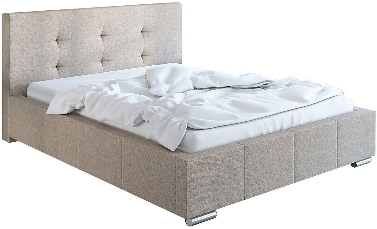 Pikowane pojedyncze łóżko 90x200 Keren 2X - 48 kolorów