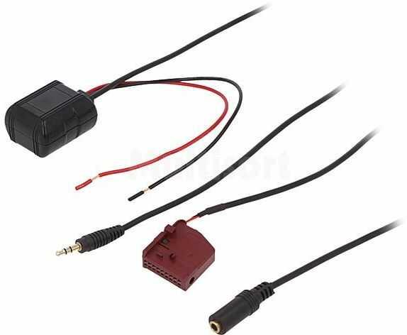 Adapter Bluetooth AUX IN Audi, Seat, Škoda, VW