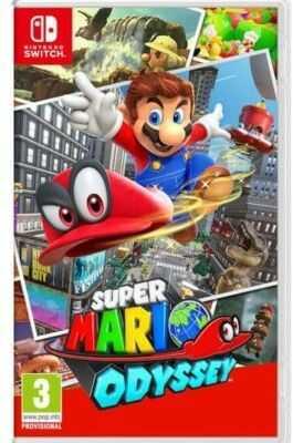 Gra Nintendo Switch Super Mario Odyssey. Kup taniej o 40 zł dołączając do Klubu