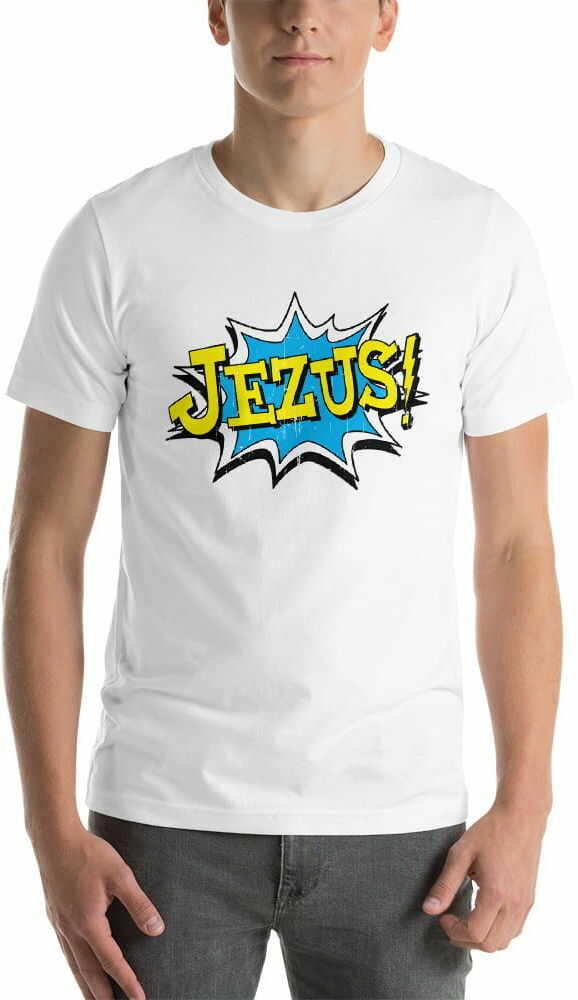 Koszulka religijna Jezus