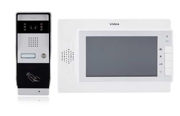 Wideodomofon vidos m320w/s50a - szybka dostawa lub możliwość odbioru w 39 miastach