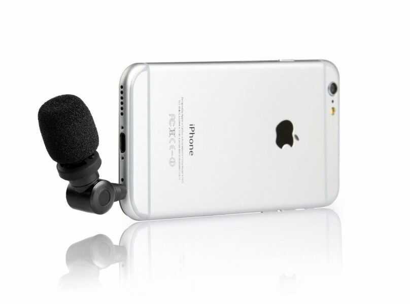 Saramonic SmartMic - mikrofon pojemnościowy do iPhone / iPad / iPod Touch Saramonic SmartMic - mikrofon pojemnościowy do iPhone / iPad / iPod Touch