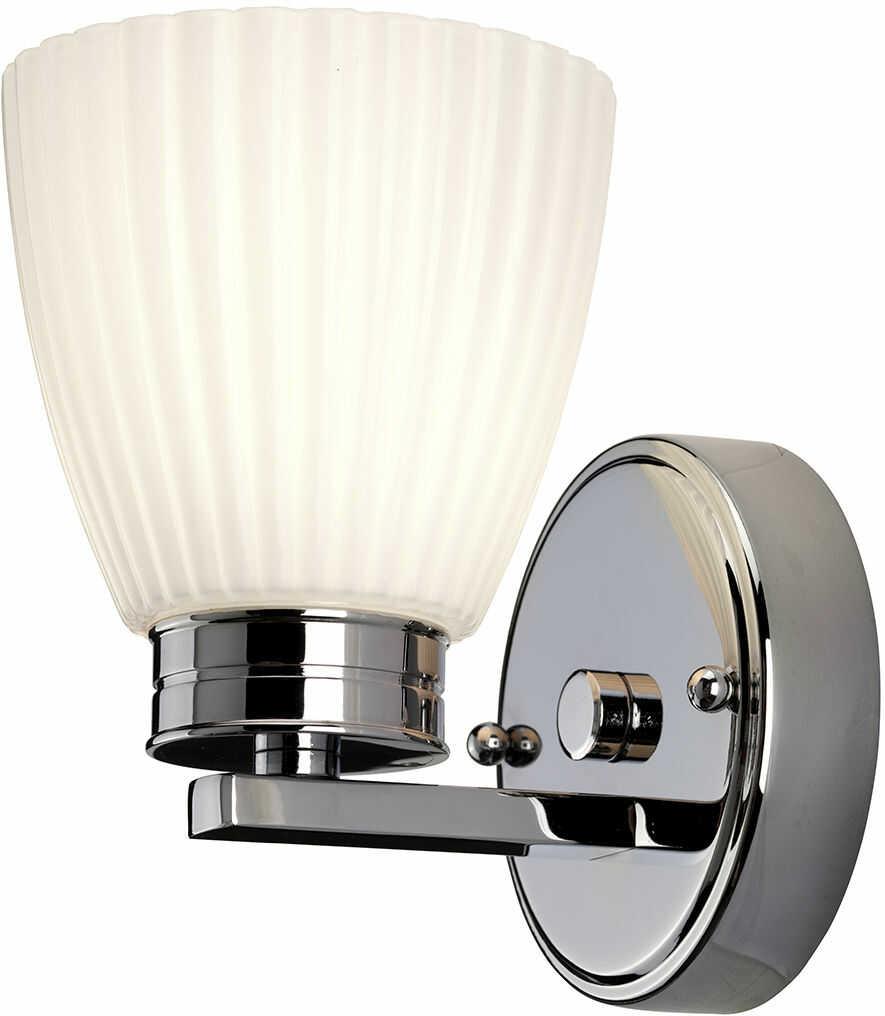 Kinkiet łazienkowy Wallingford BATH/WL1 Elstead Lighting klasyczna oprawa w kolorze chromu