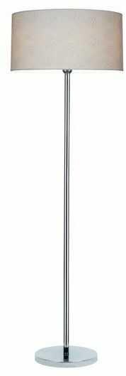 Lampa podłogowa LEILA chrom metal papier pcv kropki 6651028