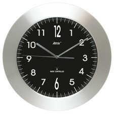 Zegar aluminiowy szeroka ramka radiowy DCF #3