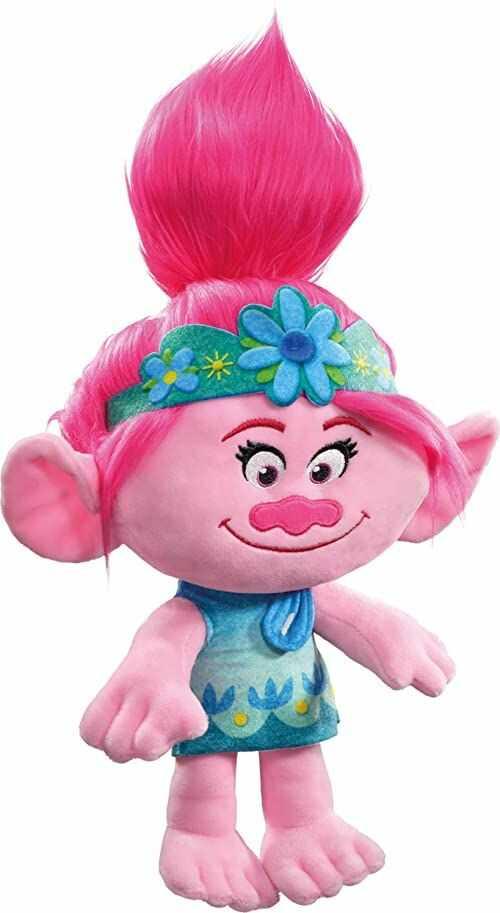 Schmidt Spiele 42722 Trolls, Poppy, pluszowa figurka, 39 cm, kolorowa