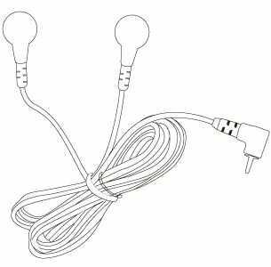 Przewody MEDEL MYO-TENS Przewody do stymulatora mięśni