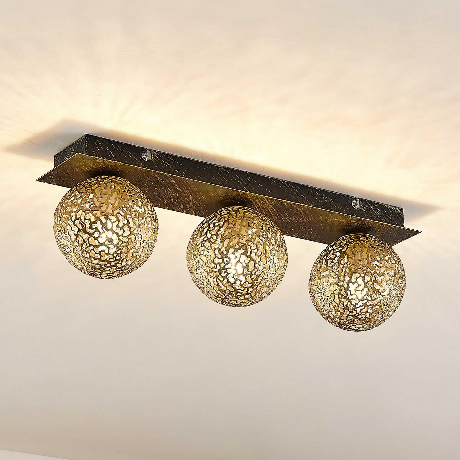 Lucande Evory lampa sufitowa, kątowa, 3-punktowa