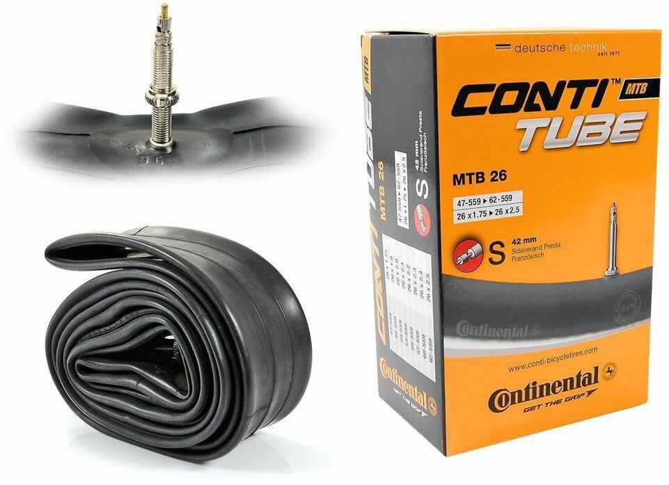 """Dętka Continental MTB 47/62-559 26"""" x 1,75"""" - 2,5"""" 26 presta 42 mm"""