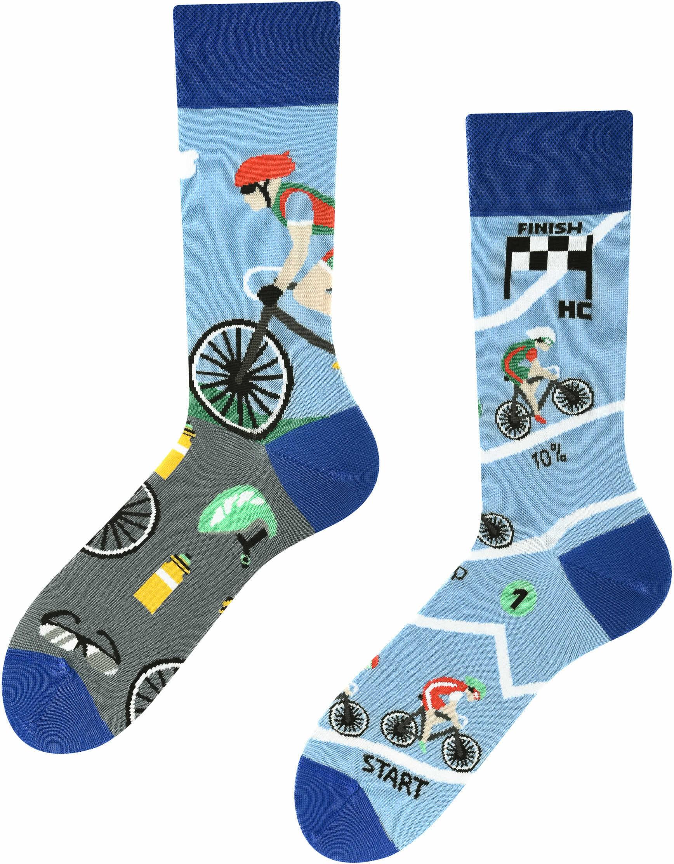 Tour de Bike, Todo Socks, Rower, Wyścig, Rowerzysta, Kolorowe Skarpetki