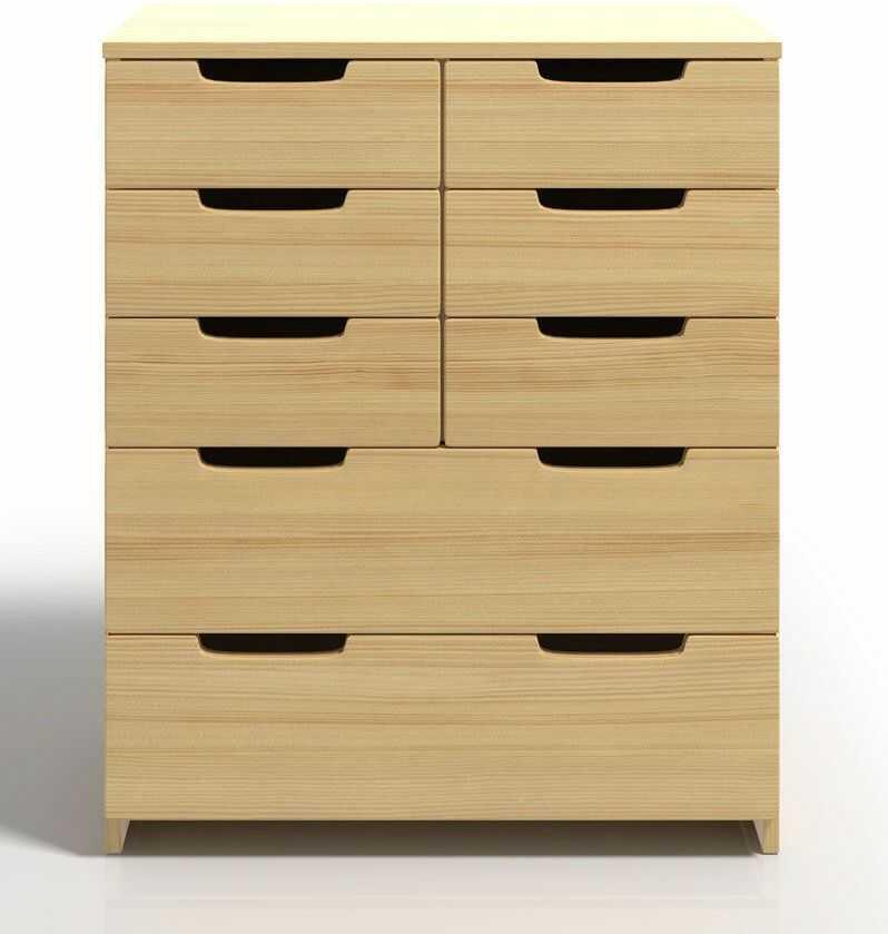 Komoda drewniana z szufladami Laurell 4X - 7 kolorów