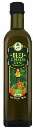 Olej z pestek dyni VIRGIN BIO 250 ml Dary Natury