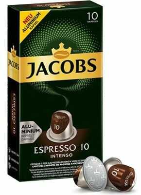 Kapsułki z kawą JACOBS ESPRESSO 10 INTENSO. Kup taniej o 40 zł dołączając do Klubu