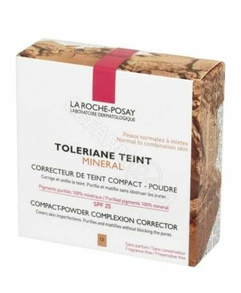 La Roche-Posay Toleriane Teint Mineral kompaktowy puder mineralny SPF 25 odcień 13 Sand Beige 9,5 g