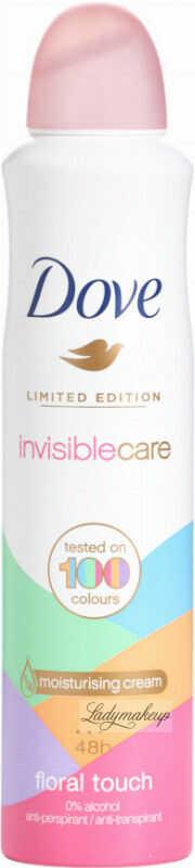 Dove - Invisiblecare - Floral Touch - 48h Anti-Perspirant - Antyperspirant w aerozolu - 250 ml