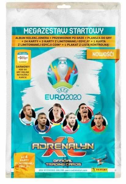 Adrenalyn XL EURO 2020 Megazestaw startowy ZAKŁADKA DO KSIĄŻEK GRATIS DO KAŻDEGO ZAMÓWIENIA