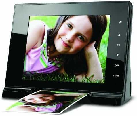 JOBO Scan Viewer cyfrowa ramka na zdjęcia (wyświetlacz 20,3 cm) i skaner