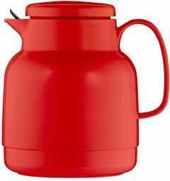 Helios Mondo termos z tworzywa sztucznego z sitkiem do herbaty, czerwony, 14,2 x 13,6 x 19,3 cm