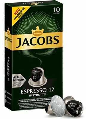 Kawa w kapsułkach JACOBS ESPRESSO 12 RISTRETTO. Kup taniej o 40 zł dołączając do Klubu