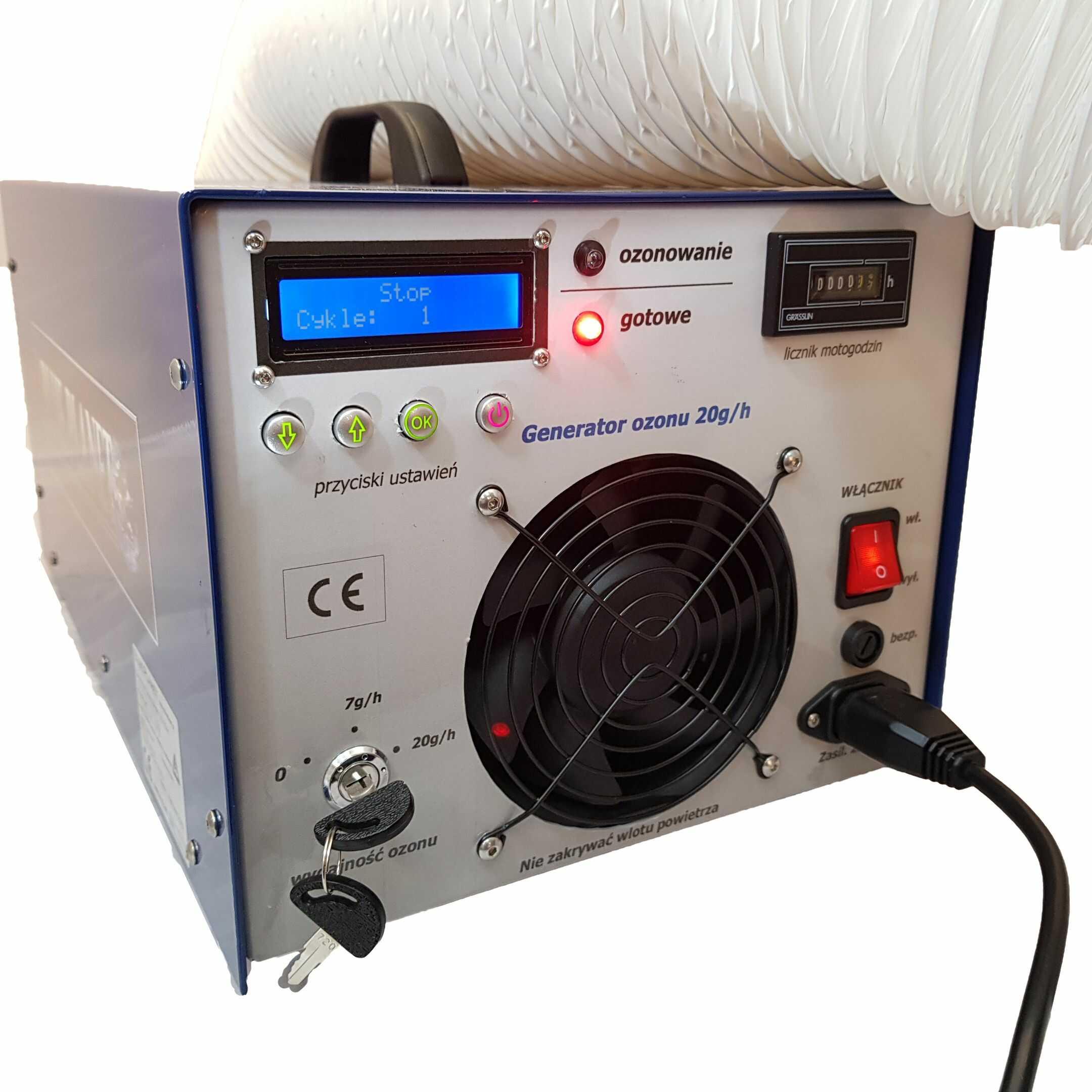 Generator ozonu 46g/h ozonator DS 46 RHR , ozonator profesjonalny, ozonator przemysłowy