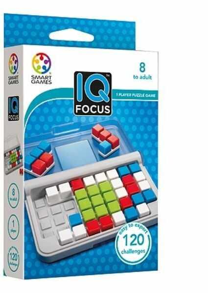 Smart Games IQ Focus ZAKŁADKA DO KSIĄŻEK GRATIS DO KAŻDEGO ZAMÓWIENIA